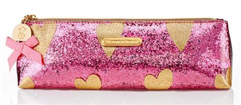 Victoria Secret Giveaway Bag 2014 - victoria s secret sparkly heart makeup bags musings of a muse