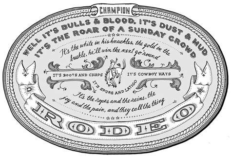 tattoo rodeo lyrics garth brooks quotes quotesgram