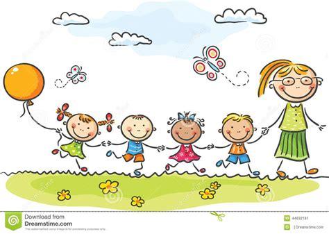 kinder garten kindergarten stock vector image 44632181