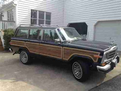 1991 jeep wagoneer interior sell used 1991 jeep grand wagoneer woody 115k southern