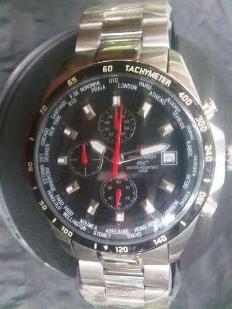 Jam Tangan Pria Original Digitec 3054 All Blk Kombi Grey jam tangan aghashe