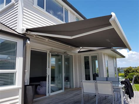 retractable awnings nz retractable awnings automated awnings auckland