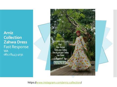 Grosir Baju Gamis Rihana Dress N 0812 8443 4031 grosir arniz baju muslimah zalwa dress