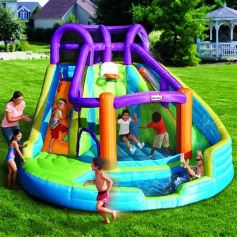 Grow N Up 2 In 1 Slide To Rocker water slides tikes 2 in 1 n