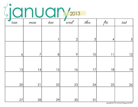 free printable weekly calendar landscape january 2016 calendar printable blank monthly calendar