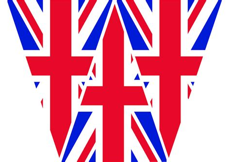 template of union bunting jubilee union flag bunting template gb flickr photo