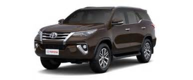 Cost Of Cars New Toyota Fortuner Price 2017 Review Pics Specs