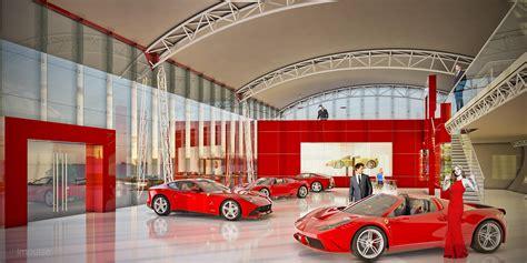Ferrari Dealership Showroom 3d Impulse
