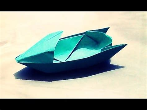 origami motorboat how to make an origami motorboat boat paper boat 2d