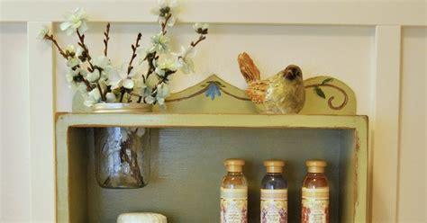wood you like to craft bathroom jar shelf