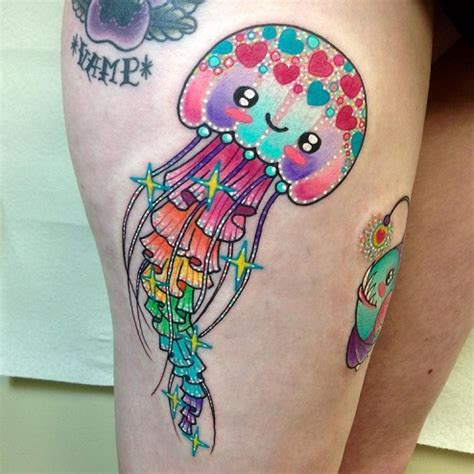 jellyfish tattoos top 9 jellyfish tattoos with images styles at