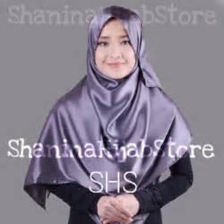 nadira cavali syar i jual harga jilbab segiempat kerudung syar i satin