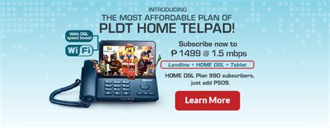 telpad tablet phone pldt home