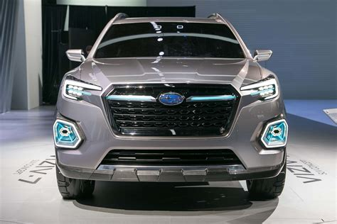 subaru viziv subaru viziv 7 suv concept first look review