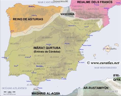 map of iberian peninsula euratlas periodis web map of the iberian peninsula in 800
