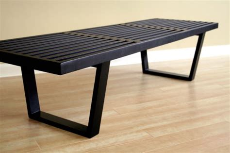 black wooden benches contemporary nelson style black wooden bench outdoorandabout com