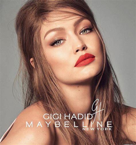 Maybelline X Gigi Hadid gigi hadid x maybelline collection fashionisers