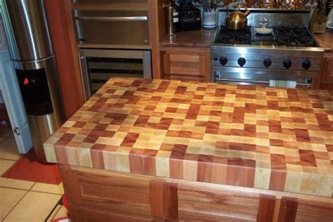 Chop Block Countertop by Multi Wood Chopping Block Kitchen Countertops By Wr Woodworking