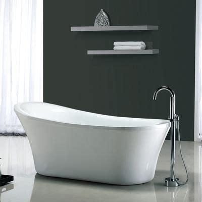 freestanding bathtubs canada ove decors penelope freestanding bathtub penelope