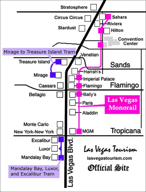 las vegas tram map las vegas monorail las vegas nevada monorail tickets