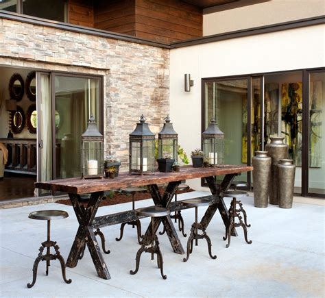 Patio Pub Table Asian Outdoor Pub And Bistro Tables Patio Farmhouse With Patio Traditional Decorative Pillows