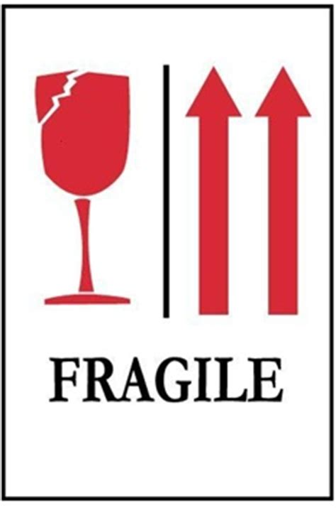 shipping label fragile glass fragile with glass and arrows international shipping labels