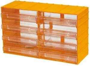 cassetti plastica brico cassettiera portaminuterie 12 cassetti porta minuteria per