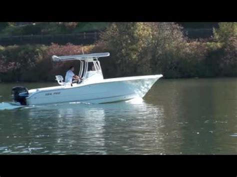 sea pro boats ratings 2005 sea pro 238 center console for sale youtube