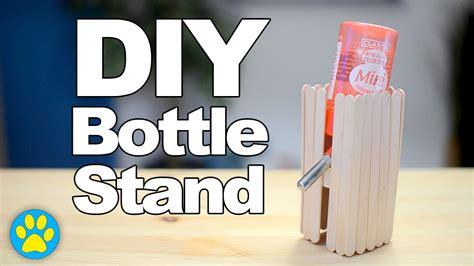 diy water bottle stand diy bottle stand diyjuly