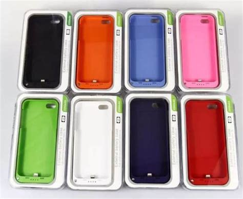 cargador funda iphone 5 funda cargador para iphone 5 y 5s de 2880ma 250 00 en