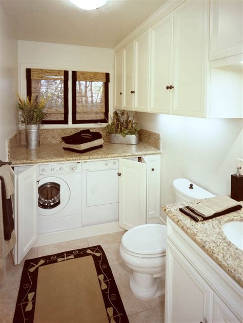 laundry in bathroom ideas laundry room half bath on 55 pins
