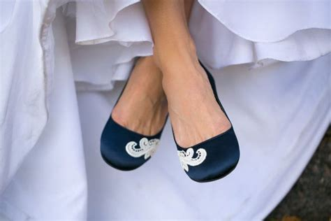 navy blue flat wedding shoes wedding flats blue wedding flats navy bridal shoes