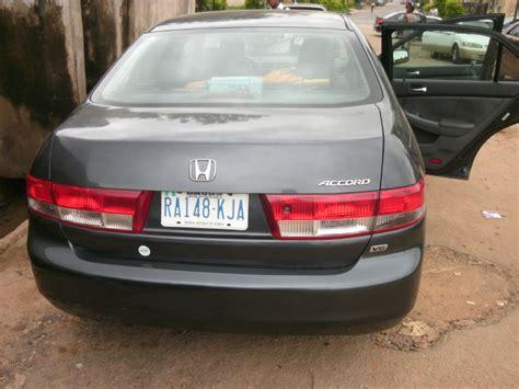registered 2003 honda accord v6 engine leather interior