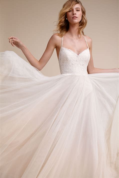 Bridal Gowns by Rosalind Gown In Wedding Dresses At Bhldn