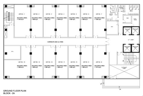 floor plan of commercial building commercial building floor plans in india