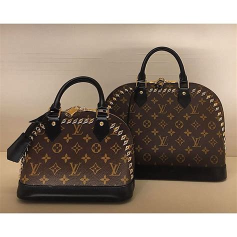 louis vuitton monogram studded alma bag bragmybag