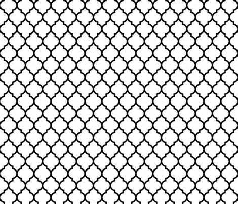 black and white moroccan wallpaper moroccan quatrefoil white with black lattice wallpaper