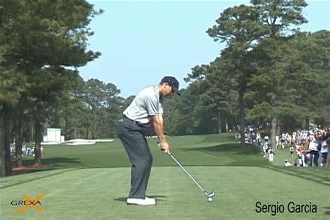 sergio garcia golf swing slow motion powerchalk 174 powerchalk sergio garcia