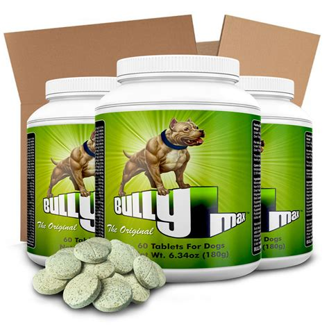 bully max puppy bully max supplements bulk order of 12