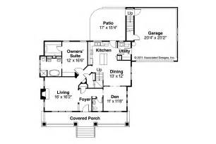 Craftsman Floor Plans by Craftsman House Plans Carrington 30 360 Associated Designs