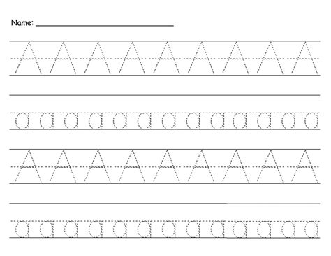 free printable letter tracing cards free traceable letter a activity shelter