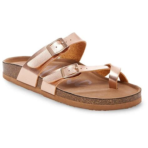 target womens sandals s mad 174 prudence footbed sandals gold 8