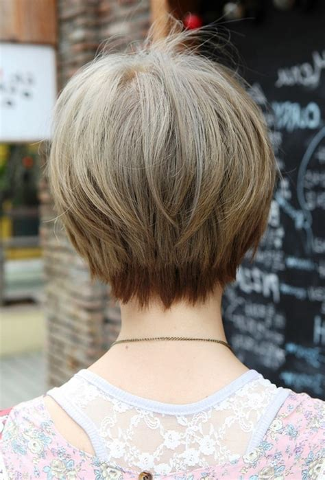 front side bavk views of short hair cuts short bob haircuts front and back hairstyles ideas
