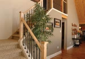 Custom Banisters Stairs And Railings Linwood Custom Homes