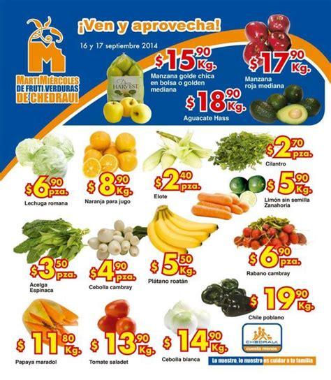 martes y miercoles de frutas y verduras chedraui 28 y 29 de enero chedraui martes y mi 233 rcoles de frutas y verduras del 16