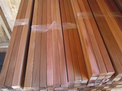cedar    square  balusters spindles
