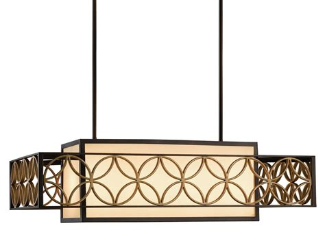 Rectangular Kitchen Island Lighting Murray Feiss F2468 4htbz Pgd Remy Transitional Rectangular Kitchen Island Billiard Light Mrf