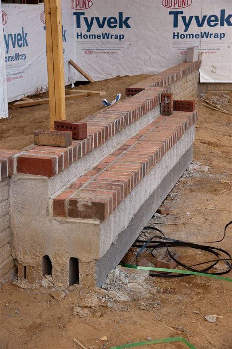 build  brick step brick steps front porch steps