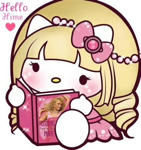 Botol Transparant Hellokitty hello reading s book by ningyoprince on
