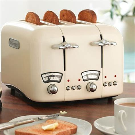 Delonghi Argento Toaster delonghi argento 4 slice retro toaster ct04e uk offers direct